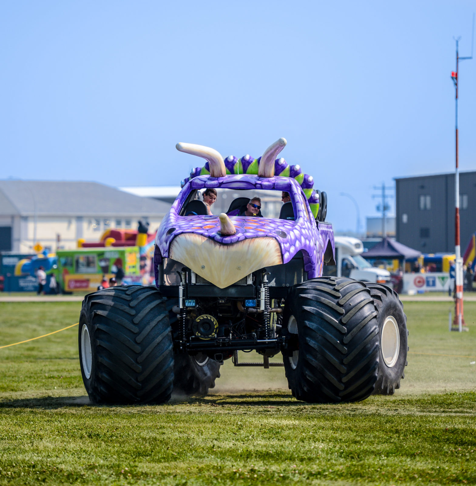 Monster Truck Rides The Edmonton Airshow